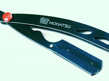 Messer BLACK Metal, Profi Mohatsu Rasier-Messer
