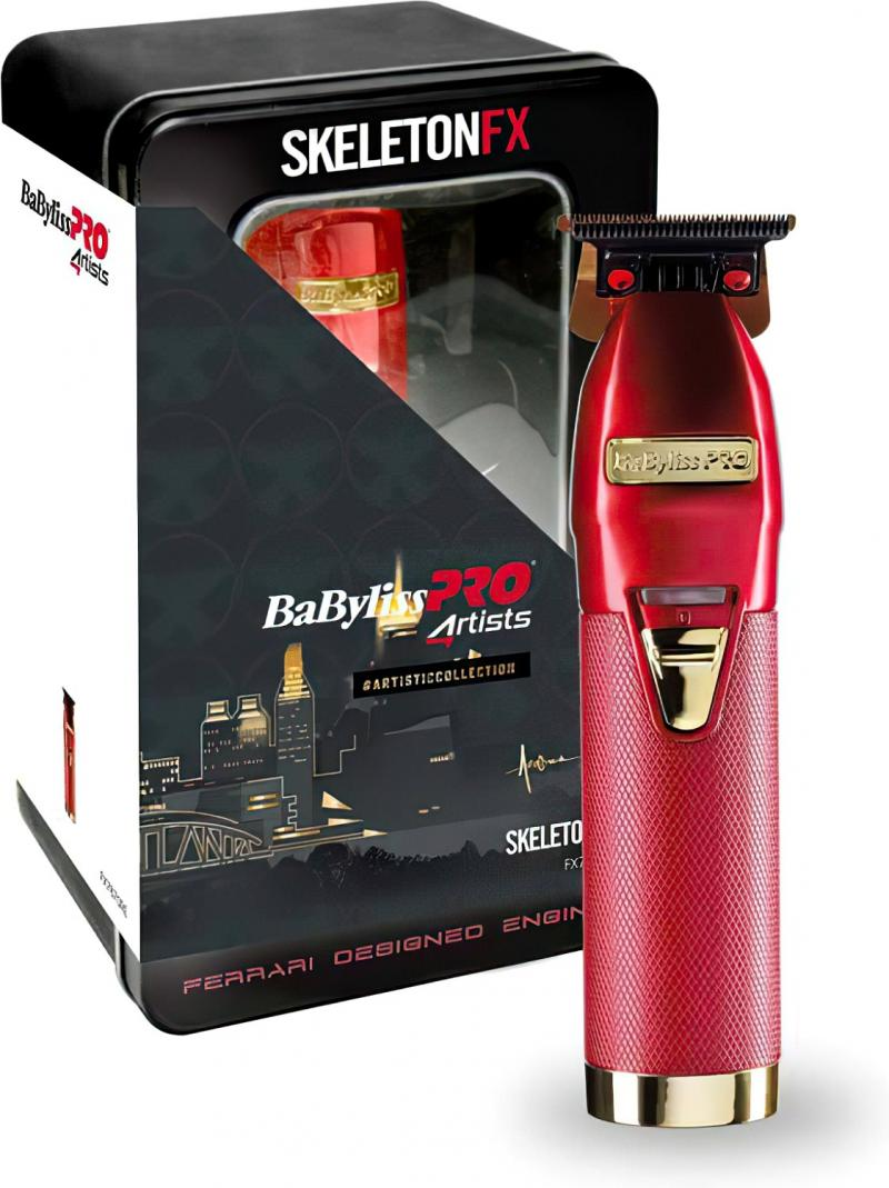 BaByliss PRO 4Artists Skeleton FX Red FX7870RE